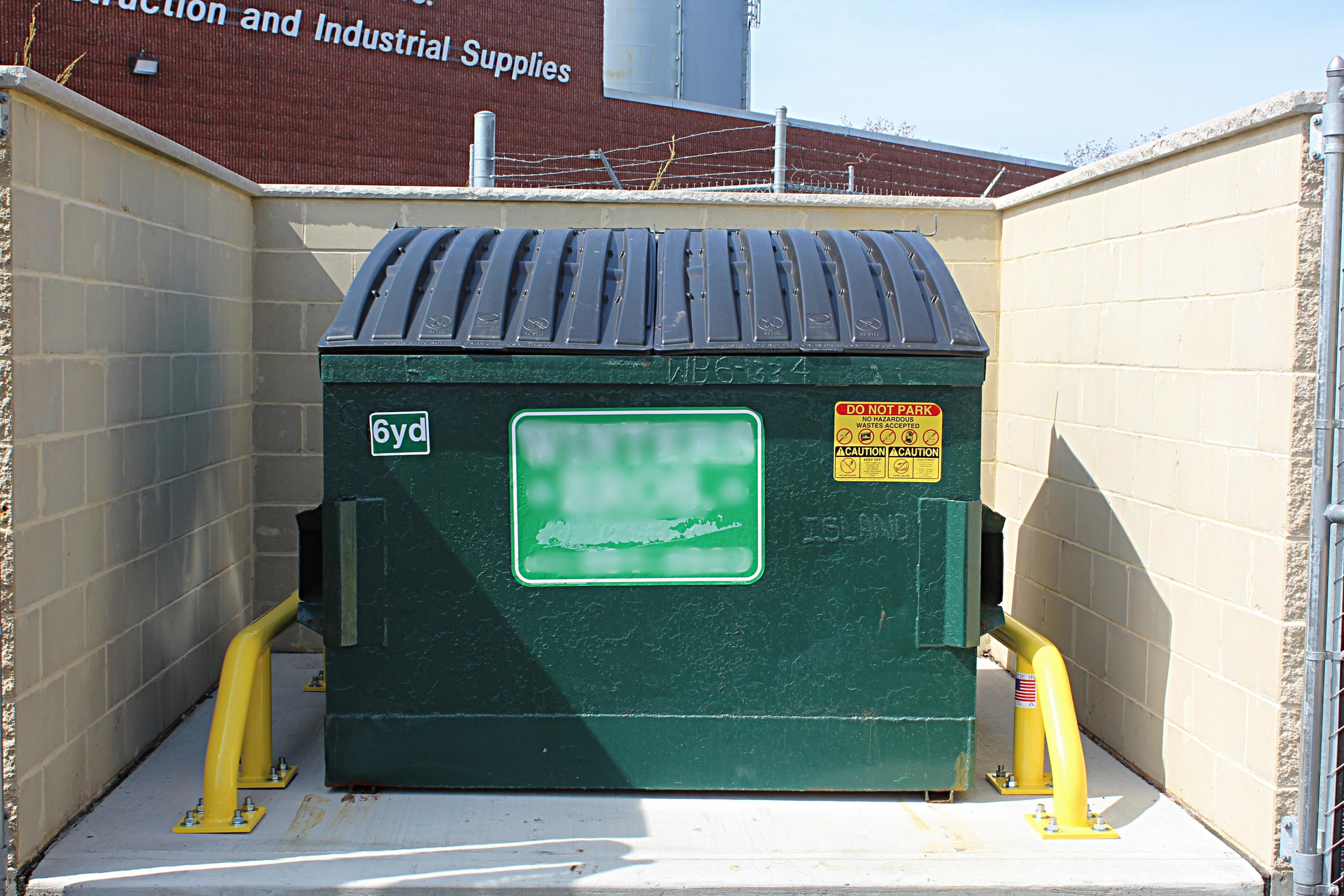 Dumpster Containment Units